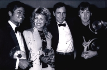Kim Wilde won BPI Award 1983
