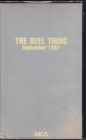 1The Reel Thing September 1987 - USA vhs1a
